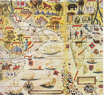Exclusivo APH History Of Portugal The Age Of Discoveries The - Portugal india map